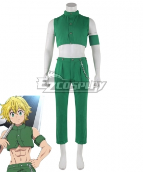 The Seven Deadly Sins: Kamigami no Gekirin Meliodas Cosplay Costume
