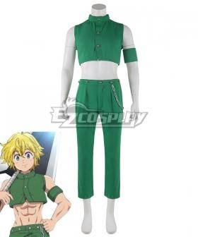 The Seven Deadly Sins: Kamigami no Gekirin Meliodas Cosplay Costume