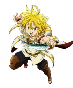 The Seven Deadly Sins: Prisoners of the Sky Meliodas Cosplay Costume