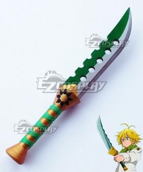 The Seven Deadly Sins: Revival Of The Commandments Nanatsu No Taizai Meliodas Lost Bane Sword Cosplay Weapon Prop