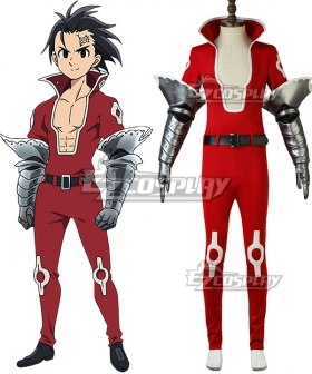 The Seven Deadly Sins: Revival of The Commandments Nanatsu no Taizai Season 2 Zeldris Cosplay Costume