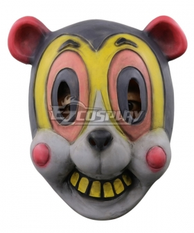 The Umbrella Academy Hazel  Halloween Mask Cosplay Accessory Prop