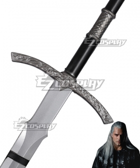 The Witcher Netflix The LOTR Witchking Sword Cosplay Weapon Prop