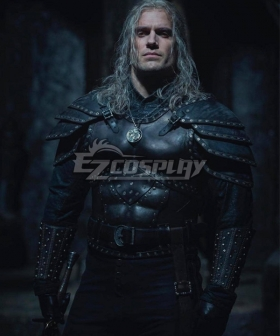 The Witcher Season 2 Netflix Geralt Of Rivia Cosplay Costume