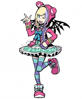 The World Ends with You: Final Remix Coco Cosplay Costume