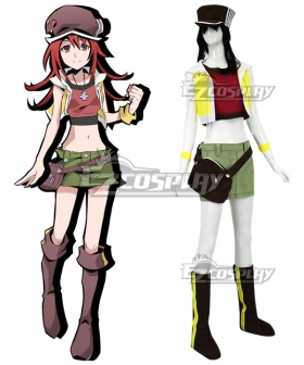 The World Ends with You: Final Remix Shiki Misaki Cosplay Costume