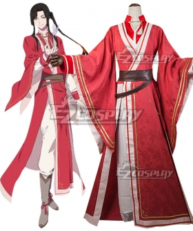Tian Guan Ci Fu Heaven Official's Blessing Anime Hua Cheng Cosplay Costume
