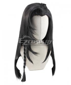 Tian Guan Ci Fu Hua Cheng Black Cosplay Wig