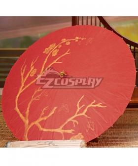 Tian Guan Ci Fu Heaven Official's Blessing Hua Cheng Red Umbrella Cosplay Accessory Prop