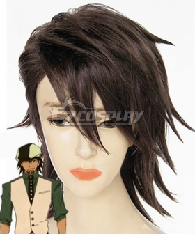 Tiger And Bunny Tiger&Bunny Kotetsu T. Kaburagi Wild Tiger Brown Cosplay Wig