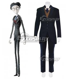 Tim Burton's Corpse Bride Victor Van Dort Helloween Cosplay Costume