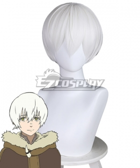 To Your Eternity Fushi Silver Cosplay Wig
