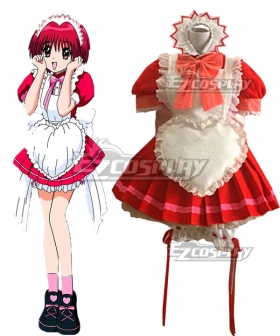 Tokyo Mew Mew Ichigo Momomiya Maid Cosplay Costume
