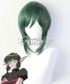 Tokyo Mew Mew Kisshyu Green Cosplay Wig