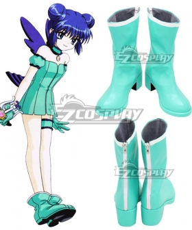 Tokyo Mew Mew Minto Aizawa Blue Cosplay Shoes