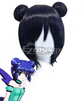 Tokyo Mew Mew Minto Aizawa Blue Cosplay Wig