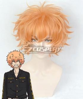 Tokyo Revengers Nahoya Kawata Smiley Orange Cosplay Wig