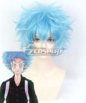 Tokyo Revengers Souya Kawata Angry Blue Cosplay Wig