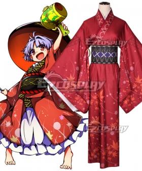 Touhou Project Double Dealing Sukuna Shinmyoumaru Cosplay Costume