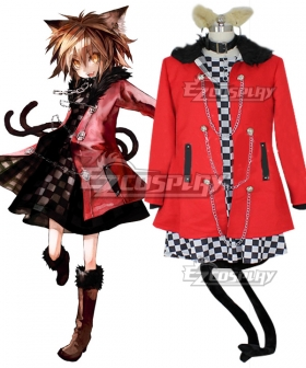Touhou Project Embodiment of Scarlet Devil Yakumo Chen Cosplay Costume