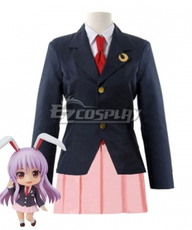 Touhou Project Reisen Udongein Inaba Cosplay Costume