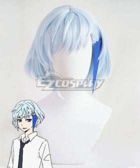 Tower Of God Khun Blue Cosplay Wig