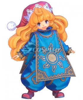 Trials of Mana Charlotte Cosplay Costume