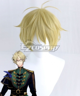 Tsukiuta.THE ANIMATION 2 Haru Yayoi Six Gravity Golden Cosplay Wig