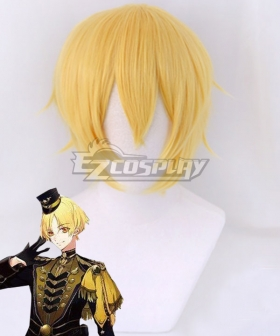Tsukiuta.THE ANIMATION 2 Kakeru Shiwasu Six Gravity Golden Cosplay Wig