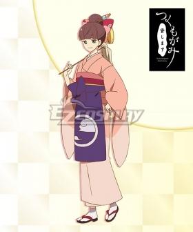 Tsukumogami Kashimasu Oko Cosplay Costume