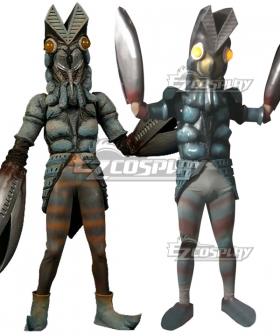 Ultraman Baltan-seijin Cosplay Costume