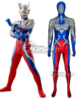 Ultraman Zero Zentai Jumpsuit Cosplay Costume