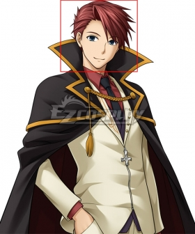 Umineko no Naku Koro ni Umineko: When They Cry Battler Ushiromiya Red Cosplay Wig