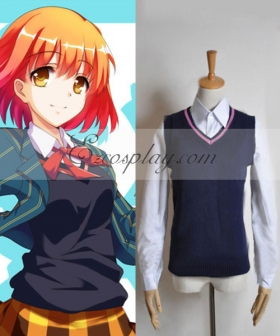 Uta no Prince-sama Saotome Uniform Female Vest Cosplay Costume