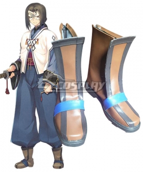 Utawarerumono Hakuoro Brown Cosplay Shoes