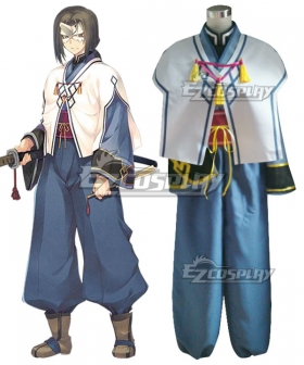 Utawarerumono The False Mask Hakuoro Cosplay Costume