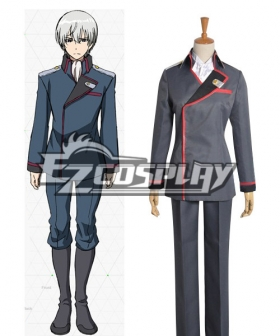 Valvrave Eruerufu Karurusutain uniform Cosplay Costume