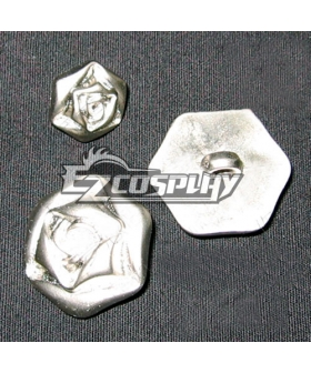 Vampire Knight Cosplay Rose Button