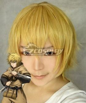 Vinland Saga Thorfinn Golden Cosplay Wig
