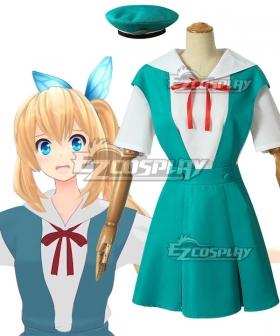 Virtual YouTuber Suzuki Hina Cosplay Costume