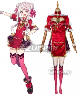 VIRTUALSAN-LOOKING Youtuber Tanaka Hime Cosplay Costume