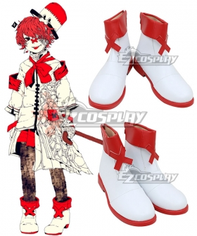 Vocaloid Fukase White Cosplay Shoes