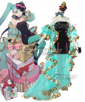 Vocaloid Hatsune Miku 12th Anniversary Cosplay Costume