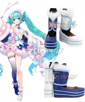 Vocaloid Hatsune Miku 2020 Magical Mirai Tokyo Blue Copslay Shoes