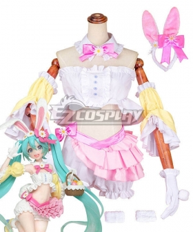 Vocaloid Hatsune Miku 2nd Season Spring Ver. Cosplay Costume