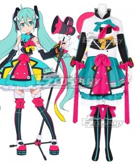 Vocaloid Hatsune Miku Magical Mirai 2018 Cosplay Costume
