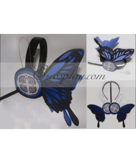Vocaloid Kaito Copslay Blue Prop Headset