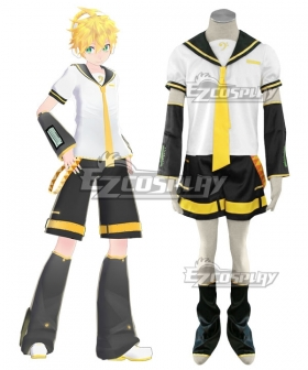 Vocaloid Len Kagamine Uniform Cosplay Costume