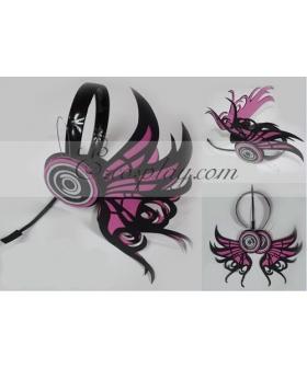 Vocaloid Miku Copslay Pteris Roseo Prop Headset