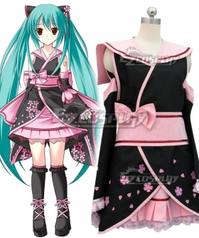 Vocaloid Miku Cosplay Costume-Advanced Custom - A Edition